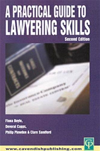 9781859417386: Practical Guide To Lawyering Skills