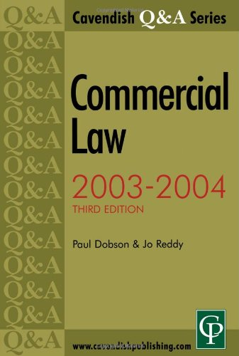 9781859417409: Q&A Commercial Law 2009-2010 (Questions and Answers)