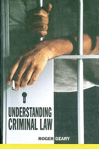 9781859417492: Understanding Criminal Law