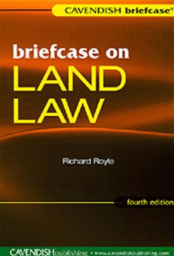 9781859417652: Briefcase on Land Law (British and American Economic Essays)