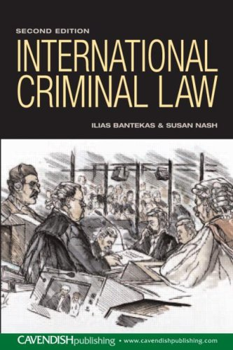 9781859417768: International Criminal Law