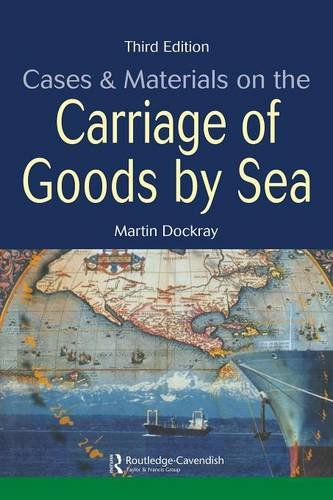 9781859417966: Cases and Materials on the Carriage of Goods by Sea