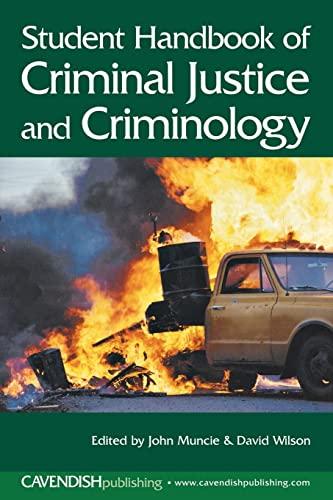 9781859418413: Student Handbook of Criminal Justice and Criminology
