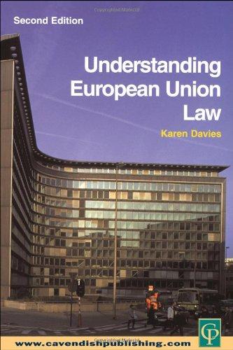9781859418482: Understanding European Union Law 2/e