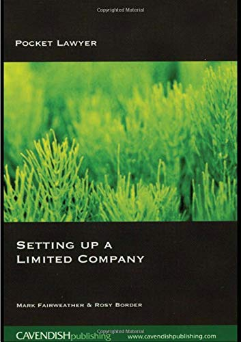 9781859418574: Setting Up a Limited Company (Pocket Lawyer)