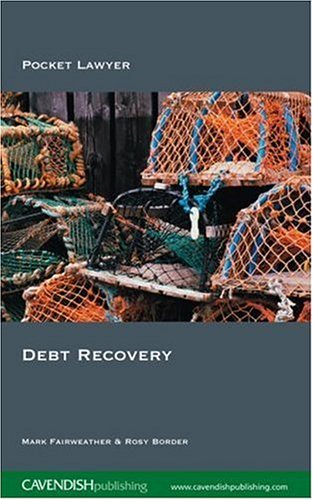 9781859418581: Debt Recovery (Pocket Lawyer)