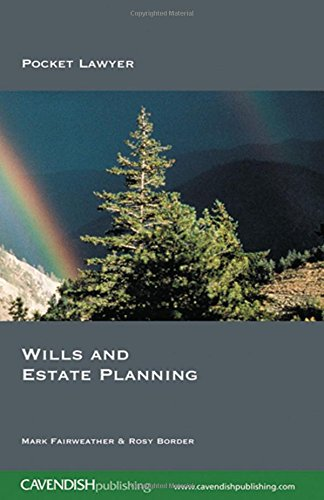 9781859418598: Wills and Estate Planning (Pocket Lawyer)
