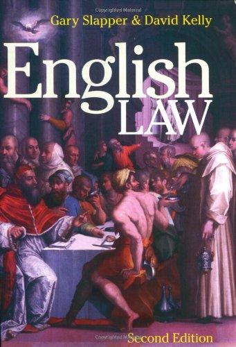 9781859418987: English Law