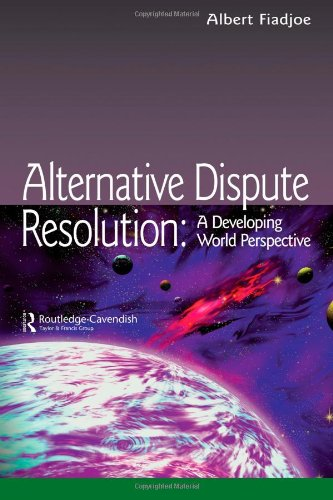 9781859419120: Alternative Dispute Resolution: A Developing World Perspective (Commonwealth Caribbean Law)