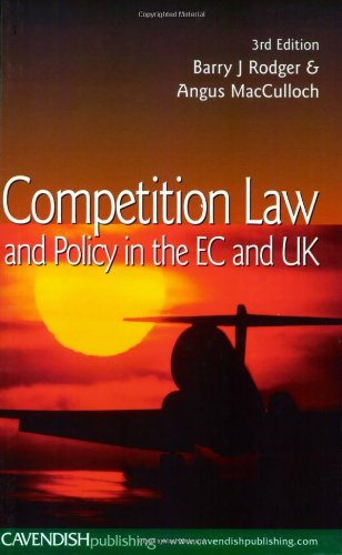 Competition Law : An Introduction to Practice and Policy