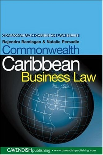 9781859419397: Commonwealth Caribbean Business Law (Commonwealth Caribbean Law)