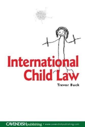 9781859419489: International Child Law