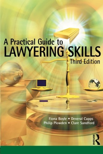 9781859419755: A Practical Guide to Lawyering Skills