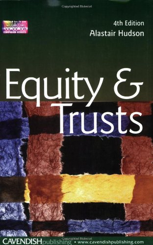 9781859419779: Equity and Trusts