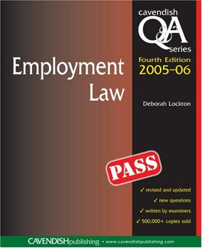 9781859419786: Employment Law Q&A (Questions and Answers)