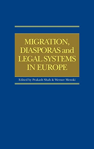 9781859419809: Migration, Diasporas and Legal Systems in Europe