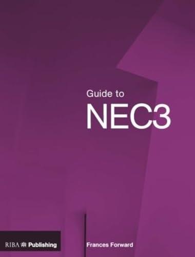 Guide to NEC3: Forward,Frances