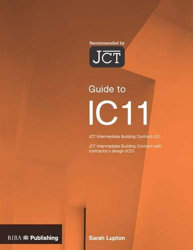 9781859463901: Guide to the JCT Intermediate Building Contract