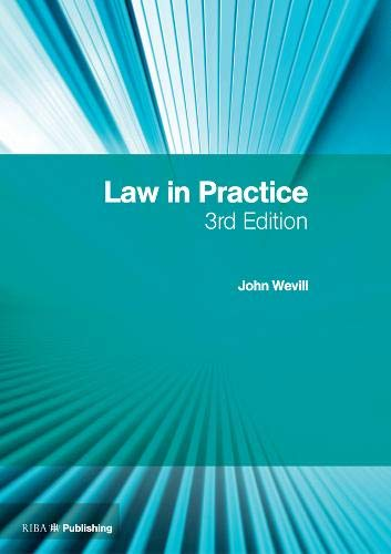 9781859465004: Law in Practice: The RIBA Legal Handbook