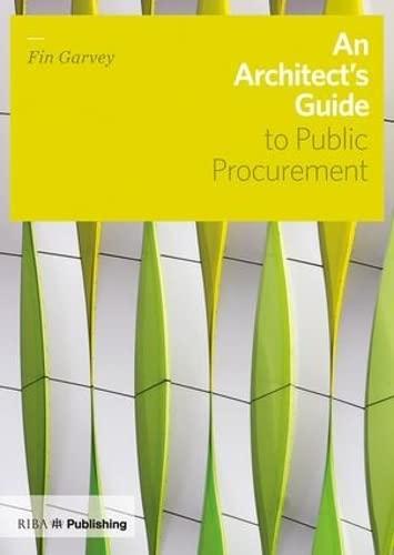 An Architect's Guide to Public Procurement: Fin Garvey