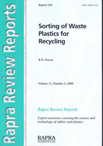 9781859572351: Sorting of Waste Plastics for Recycling