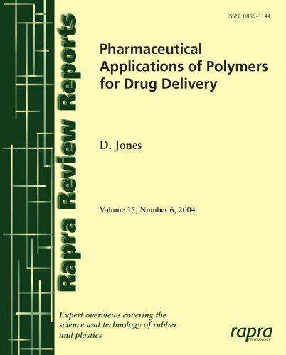 9781859574799: Pharmaceutical Applications of Polymers for Drug Delivery (Rapra Review Reports)