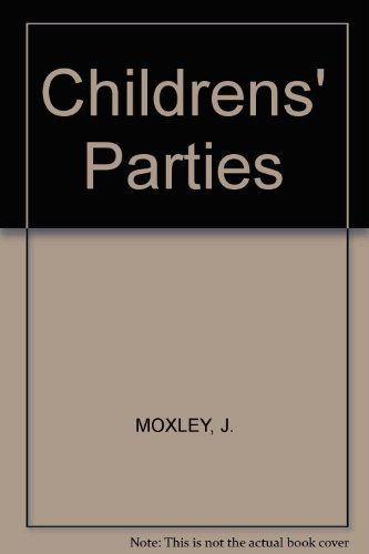 9781859589816: Childrens' Parties