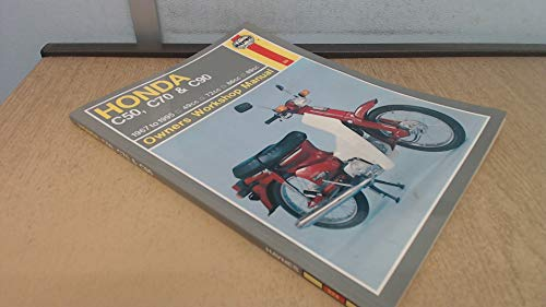 Honda C50, C70 and C90 Owner's Workshop Manual (Haynes Owners Workshop Manuals) (1859600123) by Mansur Darlington