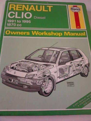 Renault Clio Owner's Workshop Manual (Paperback): A.K. Legg