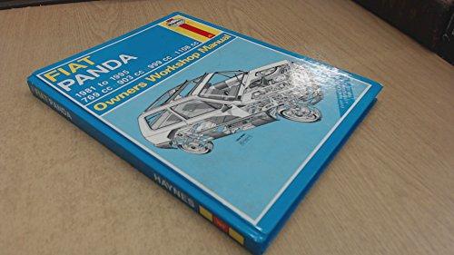 FIAT Panda Owners Workshop Manual: Strasman, Peter G.