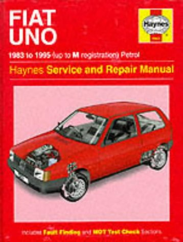 9781859600894: The Fiat Uno (83-95) Service and Repair Manual (Haynes Service and Repair Manuals)