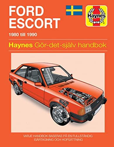 9781859600917: Ford Escort (80 - 90) (Swedish language service & repair manuals)