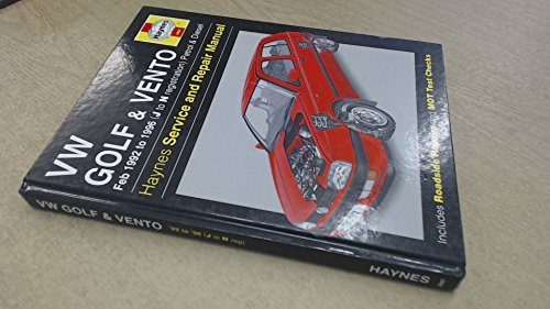 Volkswagen Golf & Vento (Feb '92 to '95) (Service and Repair Manuals) (Haynes Service and Repair Manuals) (9781859600979) by Coombs, M.; Drayton, S.