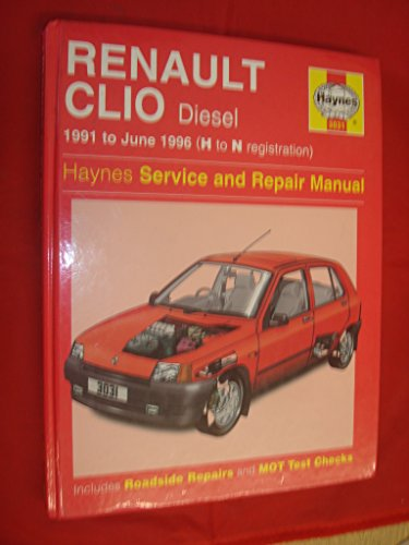 9781859600986: Renault Clio Diesel Service and Repair Manual (Haynes Service and Repair Manuals)