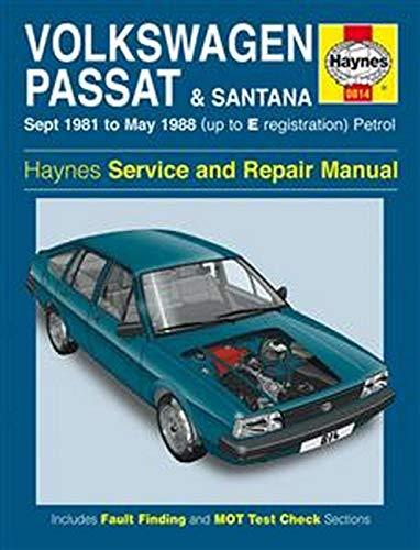 9781859601556: Volkswagen Passat and Santana 1981-88 Service and Repair Manual (Haynes Service and Repair Manuals)