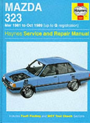 Mazda 323 (FWD) '81 to '89 Service and Repair Manual: Coombs, Mark