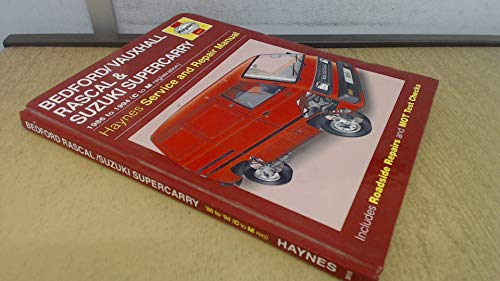 9781859601716: Bedford/Vauxhall Rascal and Suzuki Supercarry Service and Repair Manual (Haynes Service and Repair Manuals)