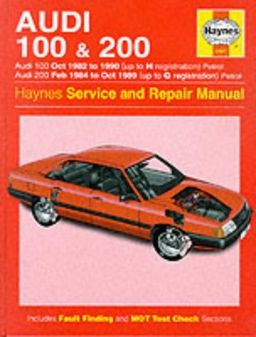 9781859601723: Audi 100 1982-90 and 200 1984-89 Service and Repair Manual (Haynes Service and Repair Manuals)