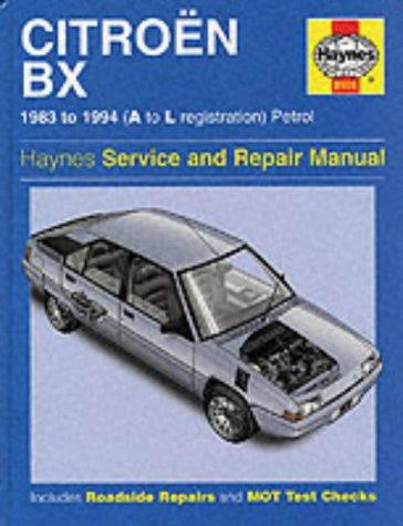 9781859601907: Citroen BX Service and Repair Manual (Haynes Service and Repair Manuals)