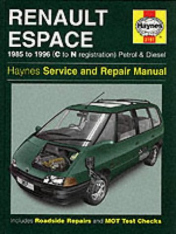Renault Espace Service and Repair Manual, 4-cyl: Anon