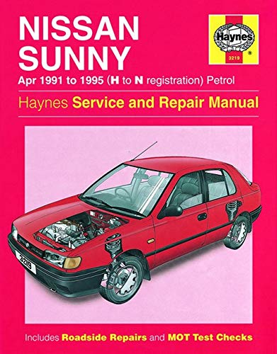 9781859602195: Nissan Sunny (91-95) Service and Repair Manual (Haynes Service and Repair Manuals)