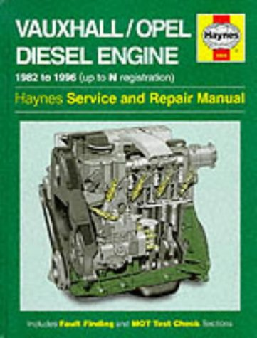Vauxhall/Opel Diesel Engine Service and Repair Manual (Haynes Service and Repair Manuals): ...