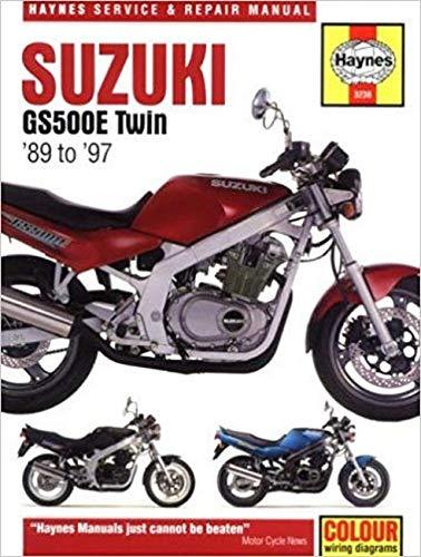 suzuki gs500e service manual abebooks rh abebooks co uk Car Service Manuals Suzuki Auto Repair Manuals
