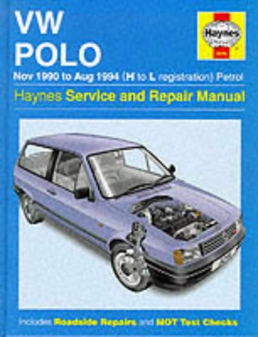 9781859602454: Volkswagen Polo (90-94) Service and Repair Manual (Haynes Service and Repair Manuals)