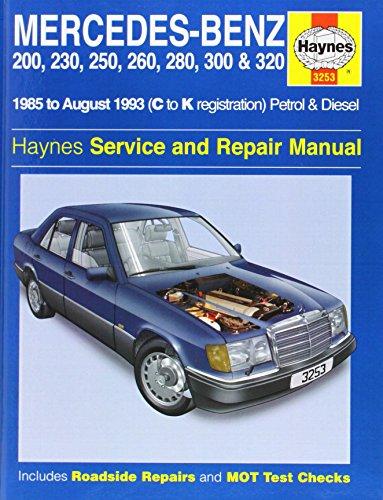9781859602539: Mercedes Benz 124 Series (85-93) Service and Repair Manual (Haynes Service and Repair Manuals)