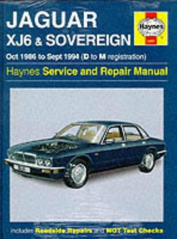 9781859602614: Jaguar XJ6 1986-94 Service and Repair Manual (Haynes Service and Repair Manuals)