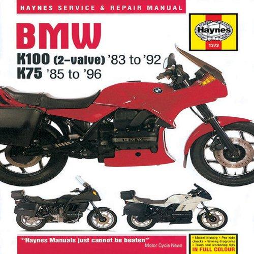 9781859602669: BMW K100 (2-valve) '83 to '92 & K75 '85 to '96 Service and Repair Mainual