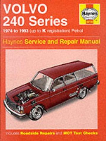 9781859602676: Volvo 240 Series Service and Repair Manual (Haynes Service and Repair Manuals)