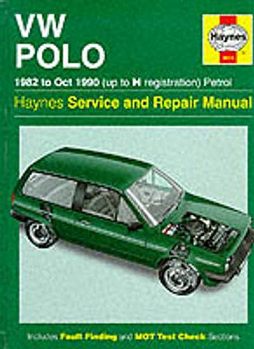 9781859602713: Volkswagen Polo 1982-90 Service and Repair Manual (Haynes Service and Repair Manuals)