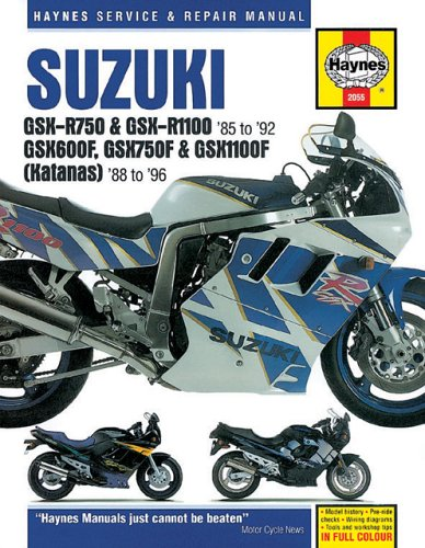 9781859602843: Suzuki GSXR & Katana '88'96 (Haynes Repair Manuals)